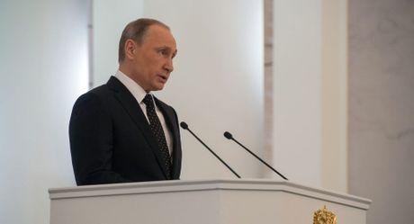 Ong Putin chuan bi doc Thong diep thuong nien gui Quoc hoi Nga - Anh 1