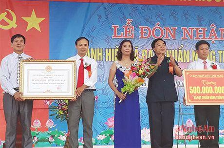 Nong dan Nghia Minh (Nghia Dan) gop hon 53 ty dong xay dung nong thon moi - Anh 1
