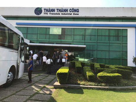 Doan doanh nghiep Nhat Ban tham va lam viec voi Cong ty CP KCN Thanh Thanh Cong - Anh 3