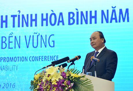 Thu tuong keu goi dau tu vao Hoa Binh - Anh 1