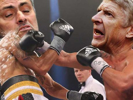 Cuoc chien Mourinho - Wenger - Anh 2