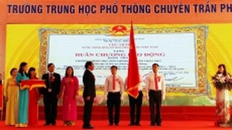Truong THPT chuyen Tran Phu (Hai Phong): Canh chim dau dan cua nganh giao duc va dao tao thanh pho Cang - Anh 1