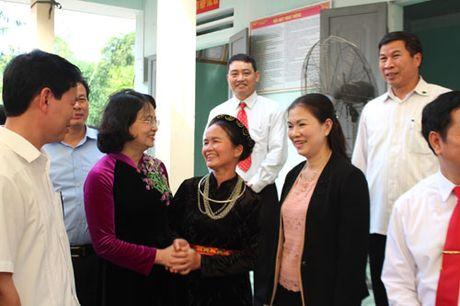 Pho Chu tich nuoc Dang Thi Ngoc Thinh du Ngay hoi dai doan ket tai Ha Giang - Anh 2