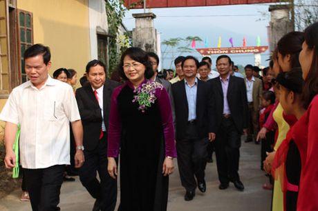 Pho Chu tich nuoc Dang Thi Ngoc Thinh du Ngay hoi dai doan ket tai Ha Giang - Anh 4