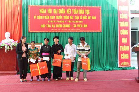 Pho Chu tich nuoc Dang Thi Ngoc Thinh du Ngay hoi dai doan ket tai Ha Giang - Anh 6