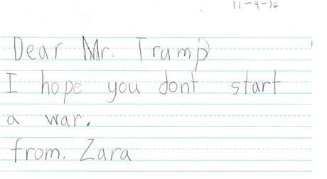 Tre em My nhan: 'Ngai Trump, hay tot bung voi moi nguoi!' - Anh 5