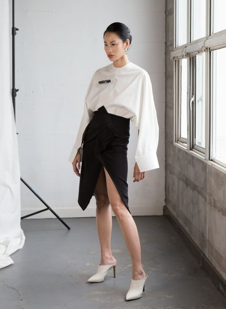 Fashionista Thanh Truc goi y 10 bo canh thanh lich - Anh 7