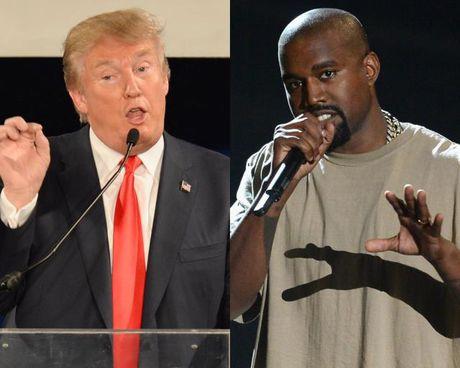 Kanye West gay phan no khi tuyen bo ung ho Donald Trump - Anh 1