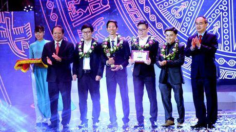 Nhan tai Dat Viet 2016: Ton vinh 2 giai Nhat ve CNTT - Anh 1