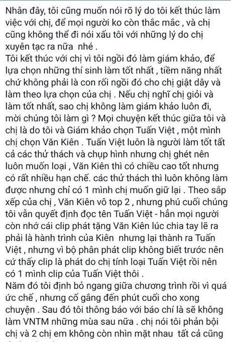 Do Manh Cuong 'tung he' chuyen dan xep ket qua Vietnam's Next Top Model 2013 - Anh 2