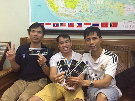 CDV Viet Nam chi duoc cap 350 ve xem tran Viet Nam – Myanmar - Anh 1