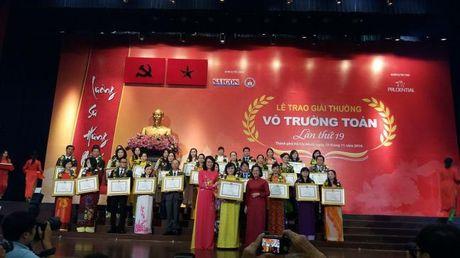 Giai thuong Vo Truong Toan vinh danh 33 nha giao tai TP.HCM - Anh 3