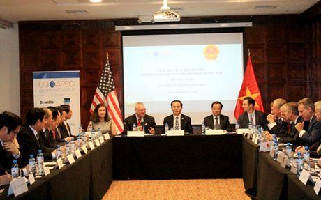 Chu tich nuoc tiep Lien minh cac doanh nghiep Hoa Ky trong APEC - Anh 1