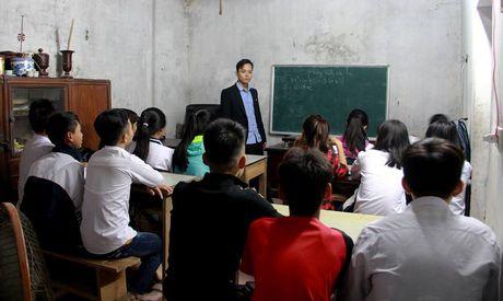 Chi nhan day hoc sinh 'yeu, kem', 'hanh kiem xau' - Anh 1