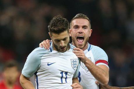 Lallana, Henderson cung di 'vui ve' trong ngay Rooney len bao - Anh 1