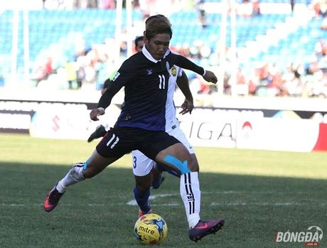 Mot minh 'Messi Campuchia' khong the danh bai Malaysia - Anh 1