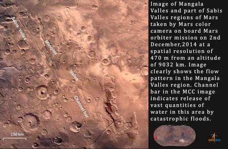 Bo anh thien van tuyet dep chup tu tau India Mars Orbiter Mission - Anh 3