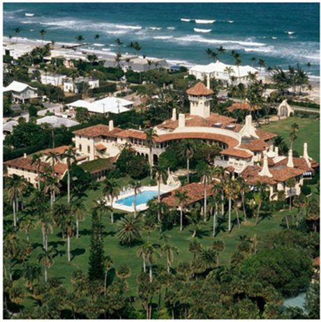 Ben trong resort cua Tong thong dac cu Donald Trump o Florida - Anh 1