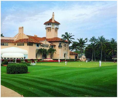Ben trong resort cua Tong thong dac cu Donald Trump o Florida - Anh 2