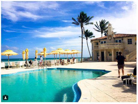 Ben trong resort cua Tong thong dac cu Donald Trump o Florida - Anh 3