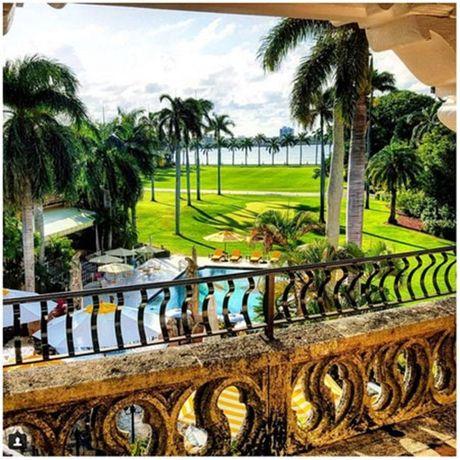 Ben trong resort cua Tong thong dac cu Donald Trump o Florida - Anh 4