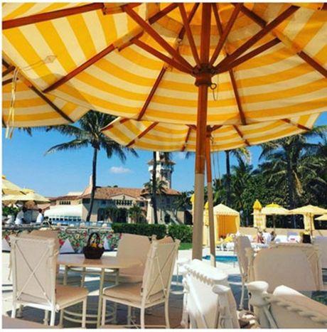 Ben trong resort cua Tong thong dac cu Donald Trump o Florida - Anh 8