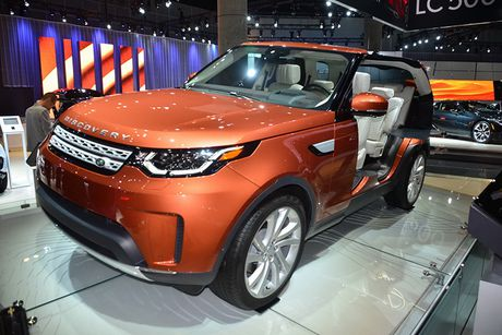 Land Rover Discovery 2017 'chot gia' 1,1 ty dong tai My - Anh 1