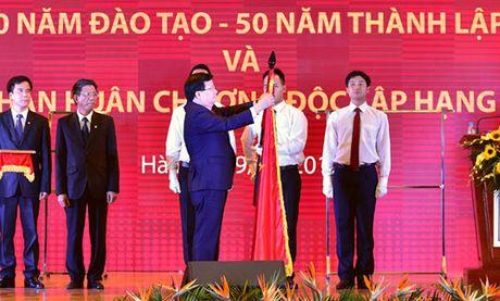 Dai hoc Xay dung can som hoat dong theo mo hinh dai hoc cong lap tu chu - Anh 1
