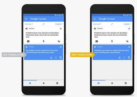 Google Translate duoc nang cap, dich chinh xac hon - Anh 1