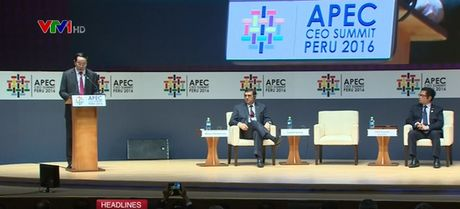 Chu tich nuoc du Hoi nghi Thuong dinh doanh nghiep APEC - Anh 1