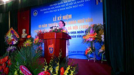 Ky niem 60 nam truyen thong khoa Ngu van, truong DH Tong hop Ha Noi - Anh 2