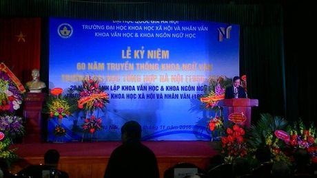 Ky niem 60 nam truyen thong khoa Ngu van, truong DH Tong hop Ha Noi - Anh 5