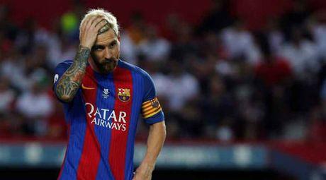 Luis Enrique thua nhan Messi co the trang toi te - Anh 1