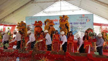 Khoi cong xay dung cho dau moi nong san thuc pham Dau Giay - Anh 1
