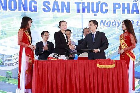 Khoi cong xay dung cho dau moi nong san thuc pham Dau Giay - Anh 3