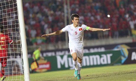 Cong Vinh ghi ban thu 50, Viet Nam danh bai Myanmar tran mo man - Anh 1