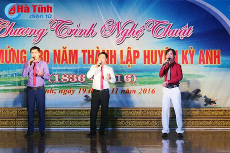 Chuong trinh nghe thuat 'Ky Anh - mien que yeu thuong ' - Anh 9
