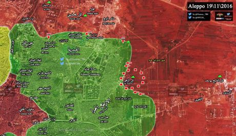 Quan doi Syria toc chien chiem cao diem then chot khong che dong Aleppo - Anh 1