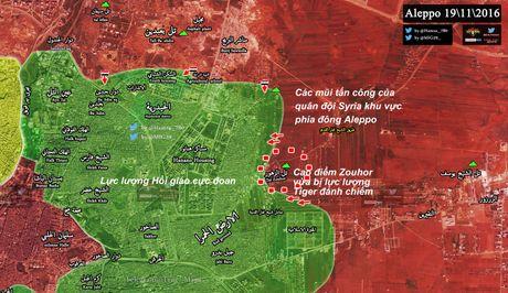 Quan doi Syria toc chien chiem cao diem then chot khong che dong Aleppo - Anh 2