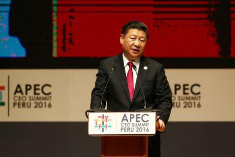 Cac lanh dao APEC doi pho voi hieu ung Trump o Peru - Anh 1