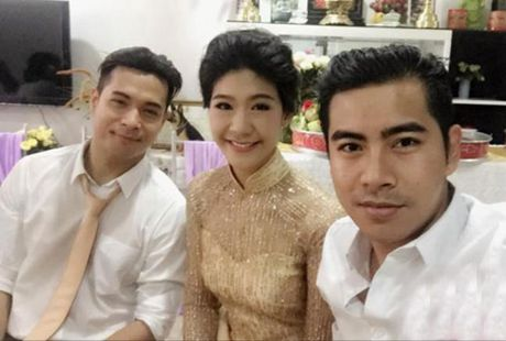 Chia tay Truong The Vinh, nu co truong khoe ban trai moi? - Anh 1