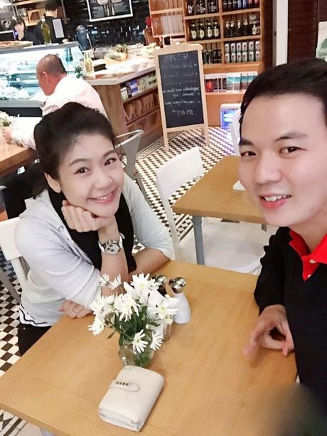 Chia tay Truong The Vinh, nu co truong khoe ban trai moi? - Anh 8
