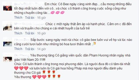 Pham Huong - Co giao 'doc nhat vo nhi' cua showbiz Viet - Anh 11