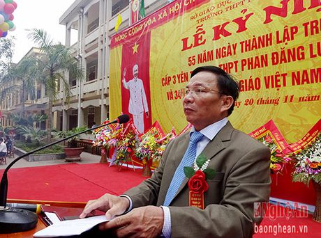 Truong THPT Phan Dang Luu ky niem 55 nam thanh lap - Anh 1