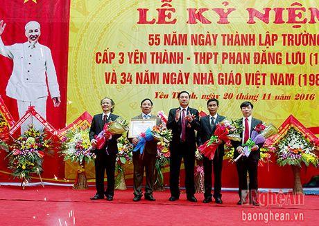 Truong THPT Phan Dang Luu ky niem 55 nam thanh lap - Anh 4