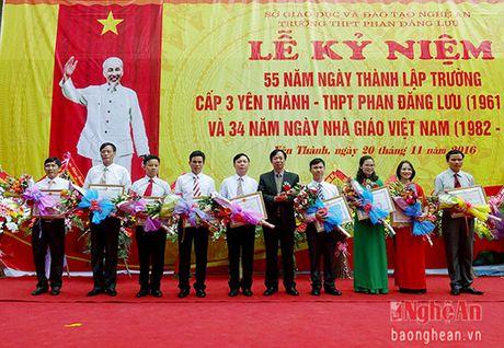 Truong THPT Phan Dang Luu ky niem 55 nam thanh lap - Anh 5