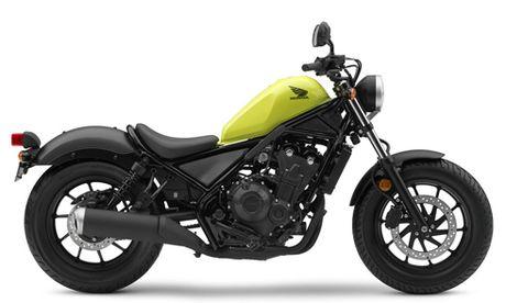 Honda trinh lang bo doi Rebel 500 va Rebel 300 moi - Anh 1