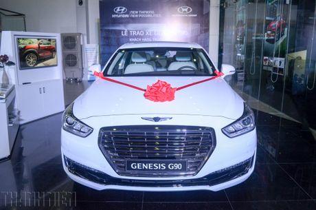 Soi chi tiet Genesis G90, sedan hang sang tai Viet Nam - Anh 3