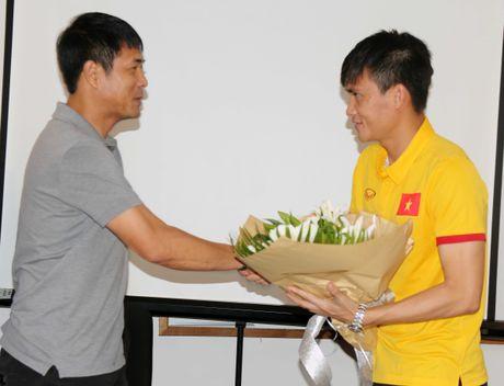 Tuyen Viet Nam hua thang Myanmar de lam qua tang thay - Anh 1