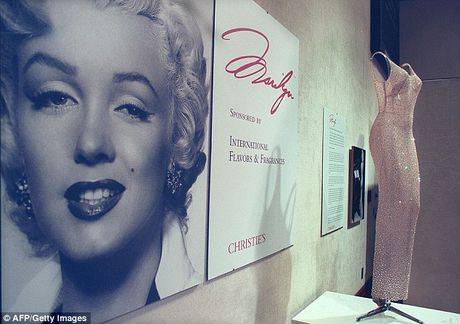 Chiec vay huyen thoai cua Marilyn Monroe co gia tram ty - Anh 1